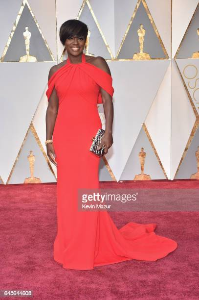 Actor Viola Davis attends the 89th Annual Academy Awards at Hollywood Highland Center on February 26 2017 in Hollywood California