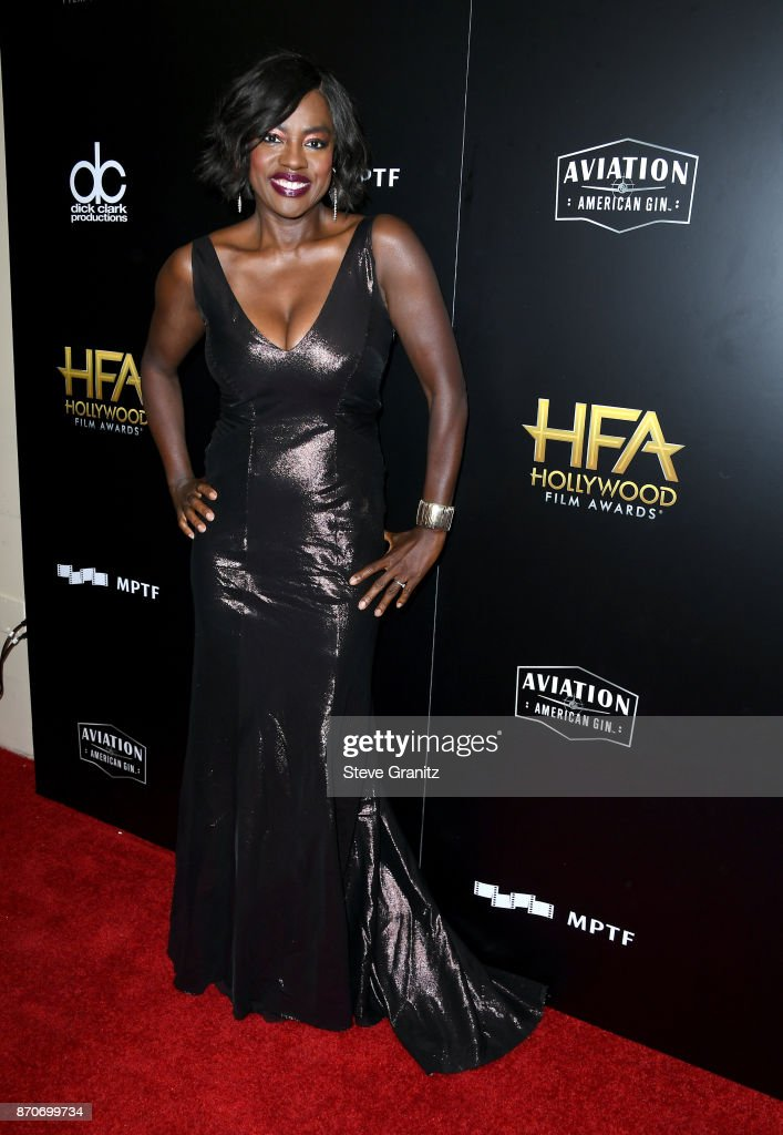 Actor Viola Davis poses in the press room during the 21st Annual Hollywood Film Awards at The Beverly Hilton Hotel on November 5, 2017 in Beverly Hills, California.