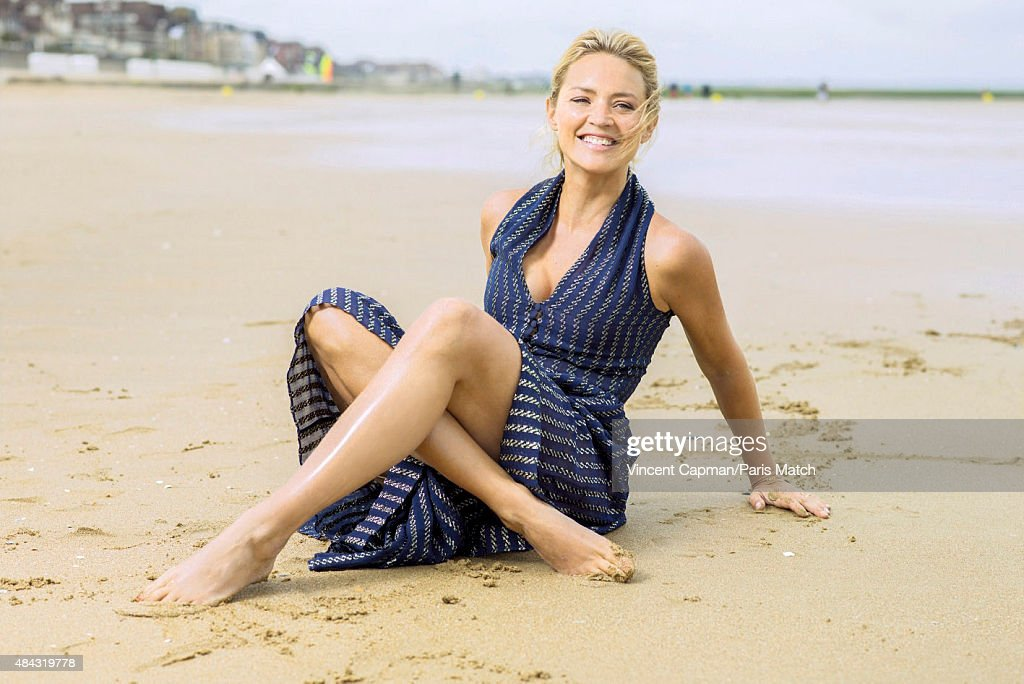 Actor <a gi-track='captionPersonalityLinkClicked' href=/galleries/search?phrase=Virginie+Efira&family=editorial&specificpeople=228714 ng-click='$event.stopPropagation()'>Virginie Efira</a> is photographed for Paris Match on June 14, 2015 in Cabourg, France.