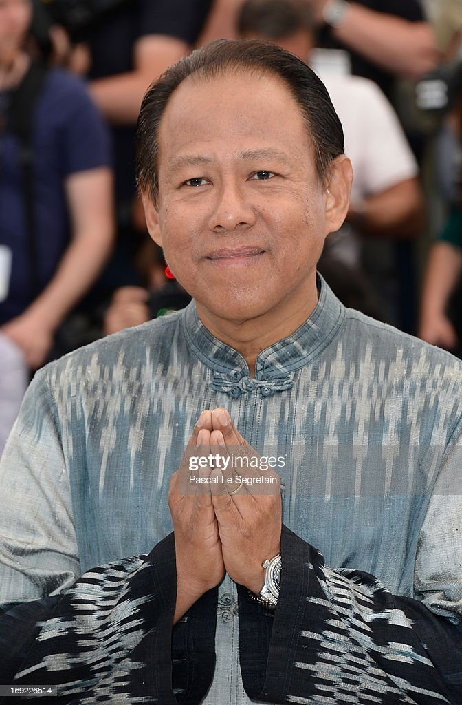Actor Vithaya Pansringarm attends the 'Only God Forgives' Photocall during the 66th Annual Cannes Film Festival on May 22, 2013 in Cannes, France.