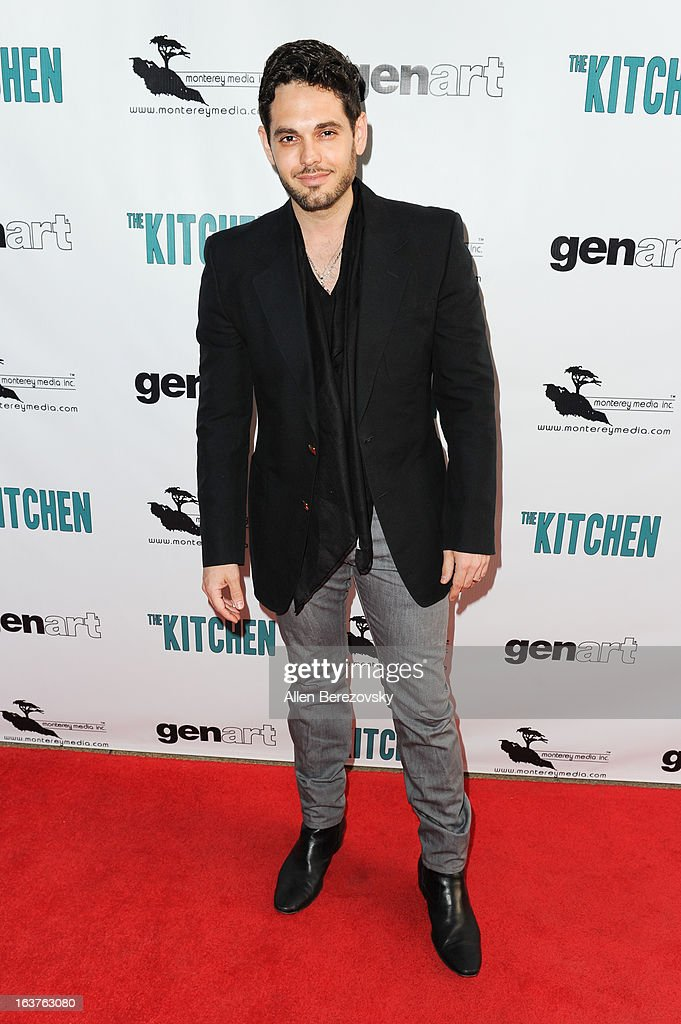 Actor Vito Cottone arrives at the Los Angeles premiere of 'The Kitchen' at Laemmle NoHo 7 on March 14, 2013 in North Hollywood, California.