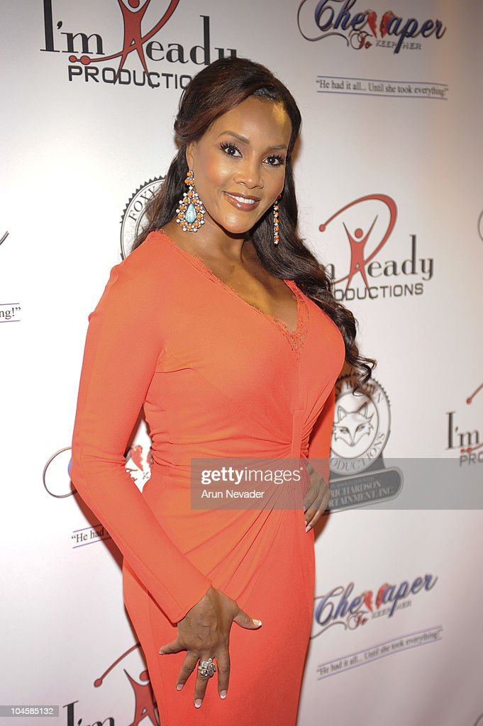 Actor <a gi-track='captionPersonalityLinkClicked' href=/galleries/search?phrase=Vivica+A.+Fox&family=editorial&specificpeople=201901 ng-click='$event.stopPropagation()'>Vivica A. Fox</a> appears at the <a gi-track='captionPersonalityLinkClicked' href=/galleries/search?phrase=Vivica+A.+Fox&family=editorial&specificpeople=201901 ng-click='$event.stopPropagation()'>Vivica A. Fox</a> & Brian McKnight Performance of 'Cheaper To Keep Her' At The Wiltern Theatre on September 30, 2010 in Los Angeles, California.