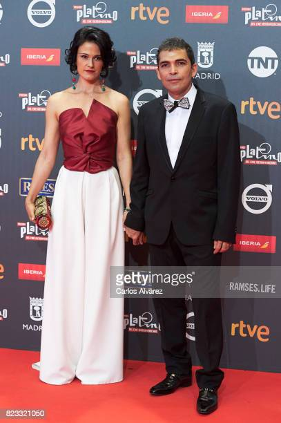 Actor Vladimir Cruz attends the Platino Awards 2017 photocall at the La Caja Magica on July 22 2017 in Madrid Spain