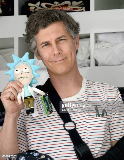 Actor / voice over artist Chris Parnell participates in Adult Swim's 'Rick And Morty' Mobile PopUp Shop held at a Shop Called Quest on July 28 2017...