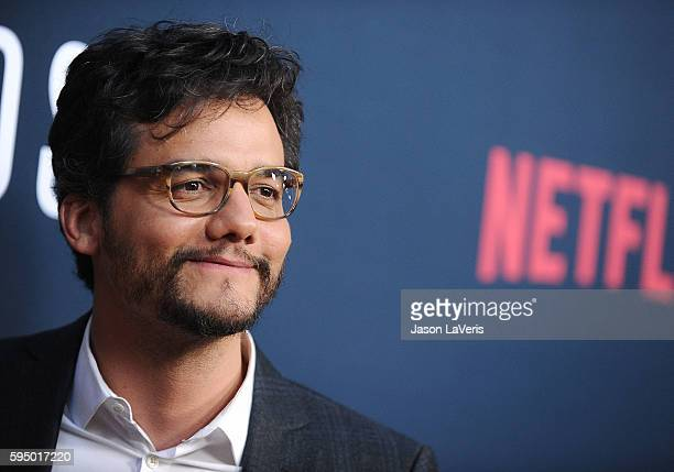 Actor Wagner Moura attends the season 2 premiere of 'Narcos' at ArcLight Cinemas on August 24 2016 in Hollywood California
