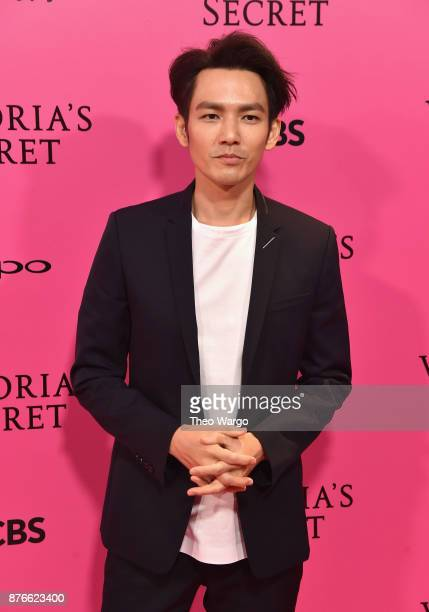Actor Wallace Chung attends the 2017 Victoria's Secret Fashion Show In Shanghai Pink Carpet Arrivals at MercedesBenz Arena on November 20 2017 in...