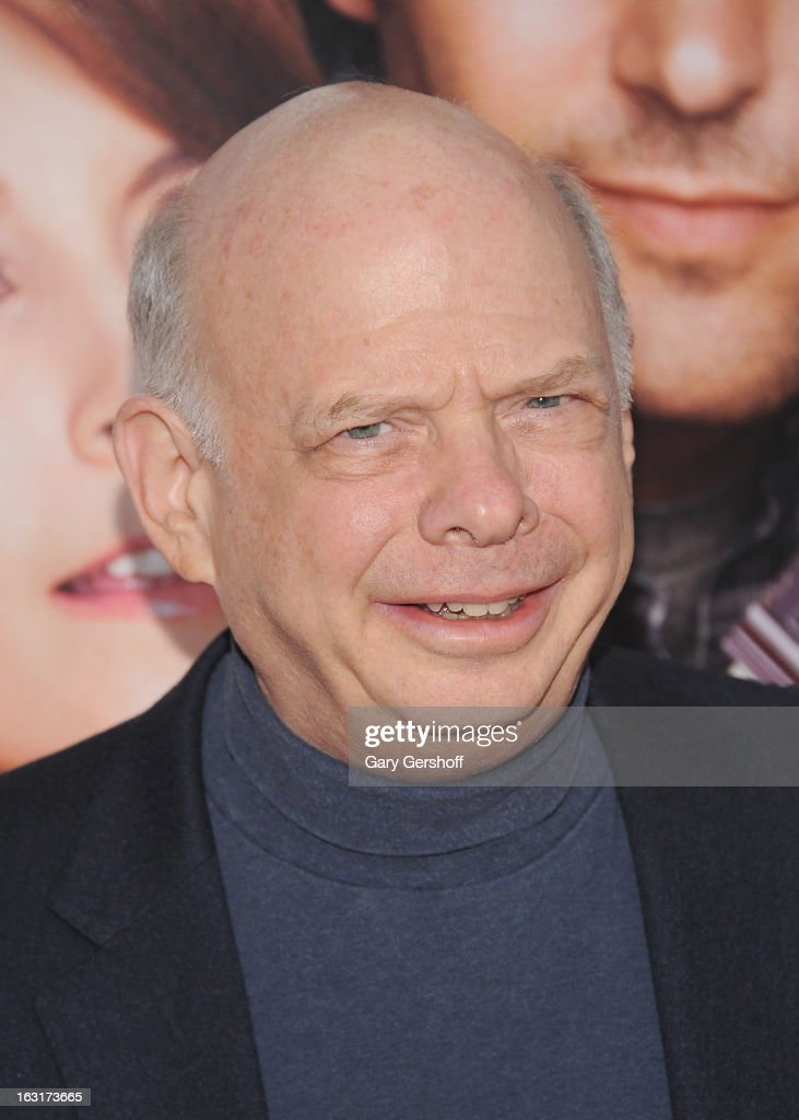 Actor <a gi-track='captionPersonalityLinkClicked' href=/galleries/search?phrase=Wallace+Shawn&family=editorial&specificpeople=240517 ng-click='$event.stopPropagation()'>Wallace Shawn</a> attends the 'Admission' New York premiere at AMC Loews Lincoln Square 13 on March 5, 2013 in New York City.