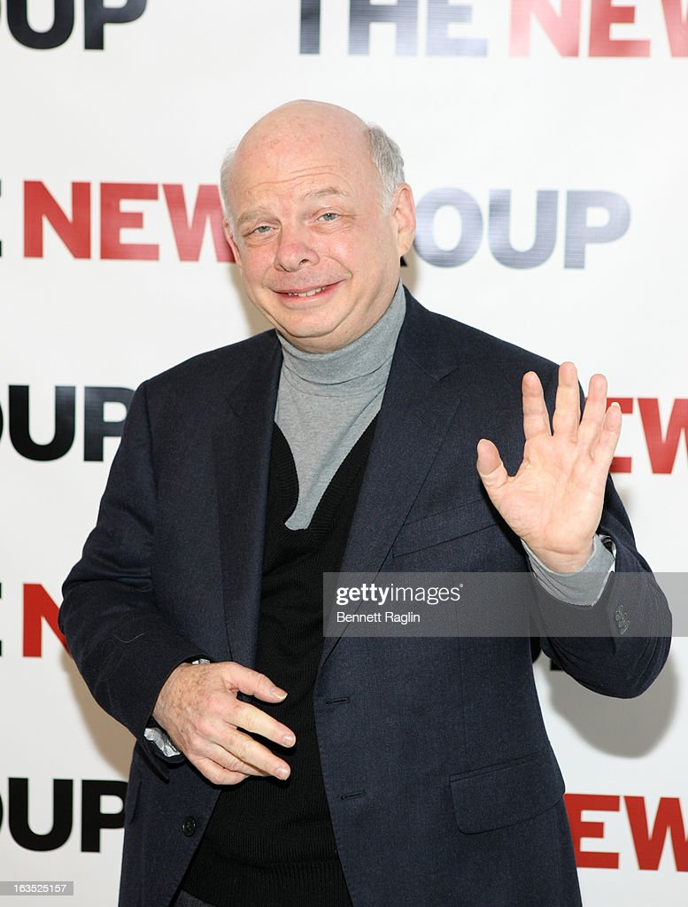 Actor <a gi-track='captionPersonalityLinkClicked' href=/galleries/search?phrase=Wallace+Shawn&family=editorial&specificpeople=240517 ng-click='$event.stopPropagation()'>Wallace Shawn</a> attends The New Group Bright Lights Off-Broadway 2013 Gala at Tribeca Rooftop on March 11, 2013 in New York City.