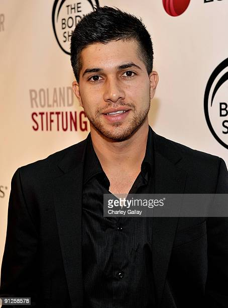 Actor Walter Perez arrives at the Somaly Mam Foundation's 2nd annual Los Angeles Gala held at a private residence on September 29 2009 in Beverly...