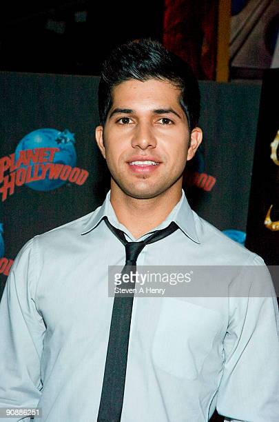 Actor Walter Perez visits Planet Hollywood Times Square on September 17 2009 in New York City