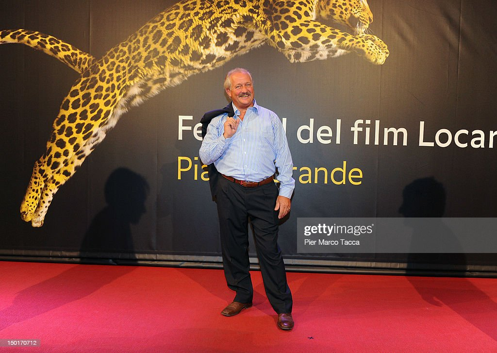 Actor Walter Saabel attends the winners red carpet during the 65th Locarno Film Festival on August 11, 2012 in Locarno, Switzerland.