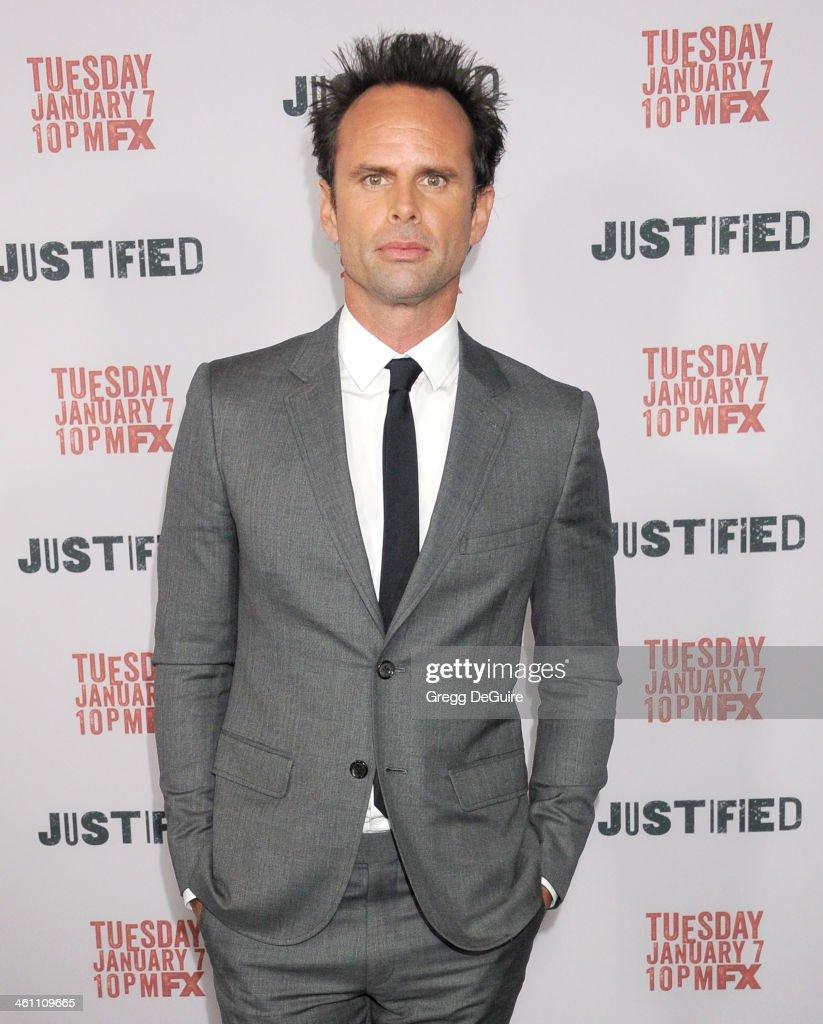 "FX ""Justified"" - Los Angeles Premiere - Arrivals"