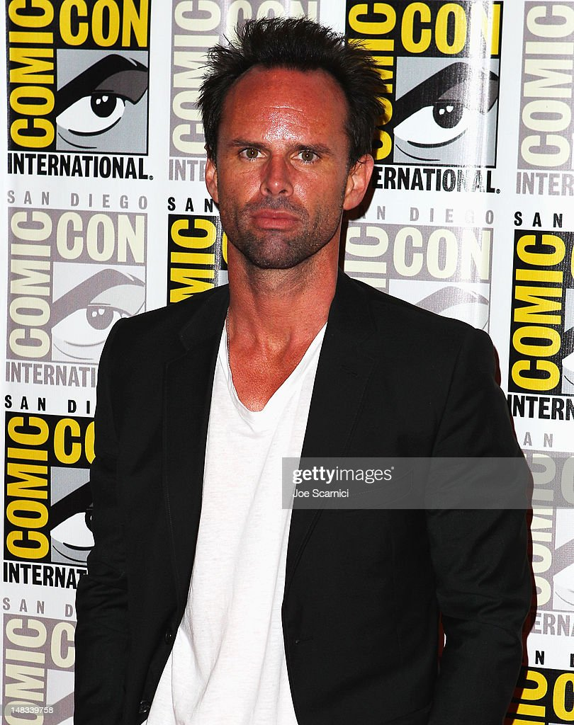 Actor <a gi-track='captionPersonalityLinkClicked' href=/galleries/search?phrase=Walton+Goggins&family=editorial&specificpeople=656067 ng-click='$event.stopPropagation()'>Walton Goggins</a> attends 'Django Unchained' at Comic-Con 2012 at Hilton San Diego Bayfront Hotel on July 14, 2012 in San Diego, California.