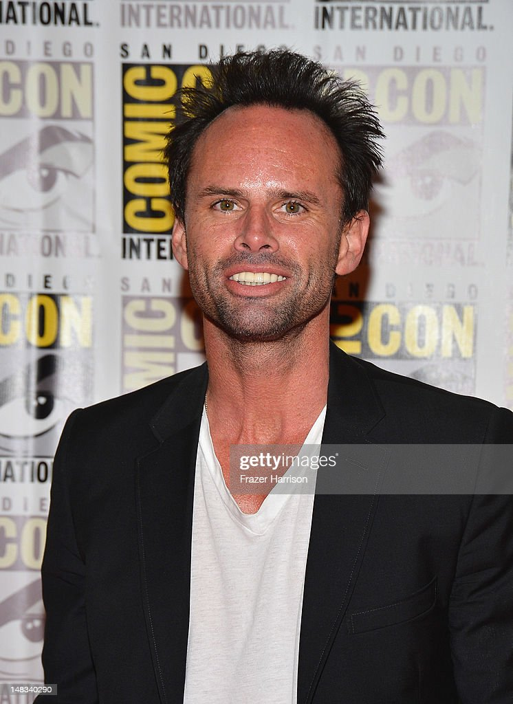 Actor <a gi-track='captionPersonalityLinkClicked' href=/galleries/search?phrase=Walton+Goggins&family=editorial&specificpeople=656067 ng-click='$event.stopPropagation()'>Walton Goggins</a> attends 'DJango Unchained' Press Line during Comic-Con International 2012 at Hilton San Diego Bayfront Hotel on July 14, 2012 in San Diego, California.