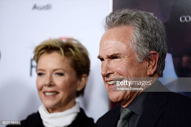 Actor Warren Beatty and actress Annette Bening arrive at the AFI FEST 2016 Presented by Audi Opening Night Premiere of 20th Century Fox's 'Rules...