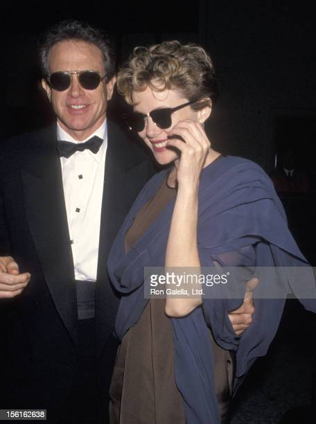 Actor Warren Beatty and actress Annette Bening attend the 22nd Annual American Film Institute Lifetime Achievement Award Salute to Jack Nicholson...