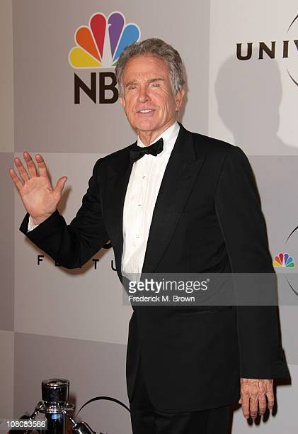 Actor Warren Beatty arrives at NBC Universal's 68th Annual Golden Globes After Party held at The Beverly Hilton hotel on January 16 2011 in Beverly...