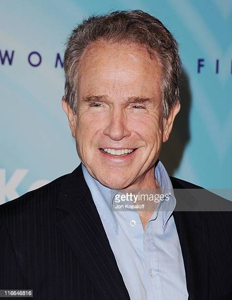 Actor Warren Beatty arrives at the Women In Film's 2011 Crystal Lucy Awards at The Beverly Hilton hotel on June 16 2011 in Beverly Hills California