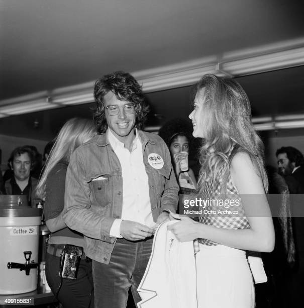 Actor Warren Beatty attends a party in Los Angeles California