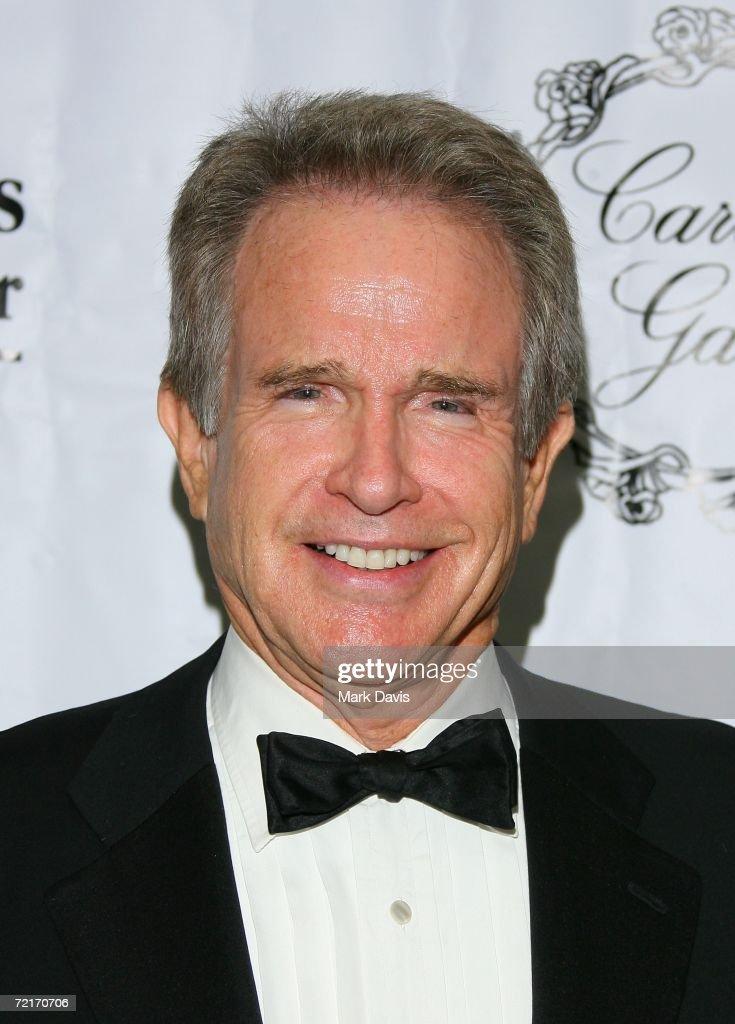 Actor Warren Beatty attends Saint John's Center 'Caritas' Gala held at the Regent Beverly Wilshire hotel on October 14 2006 in Beverly Hills...