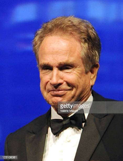 Actor Warren Beatty attends the 10th Anniversary LA Police Protective League's Eagle Badge Foundation Gala on August 30 2011 in Los Angeles California