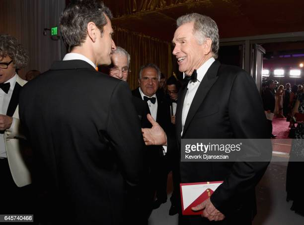 Actor Warren Beatty attends the 89th Annual Academy Awards Governors Ball at Hollywood Highland Center on February 26 2017 in Hollywood California