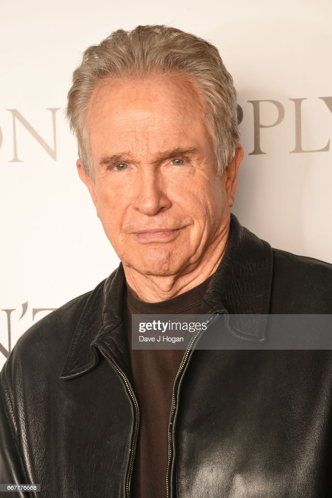 Actor Warren Beatty attends the 'Rules Don't Apply' screening and Q&A at Picturehouse Central on April 12, 2017 in London, United Kingdom.