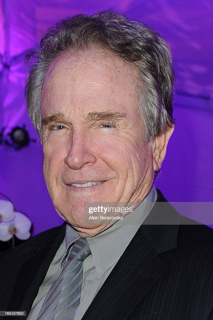 Actor <a gi-track='captionPersonalityLinkClicked' href=/galleries/search?phrase=Warren+Beatty&family=editorial&specificpeople=201478 ng-click='$event.stopPropagation()'>Warren Beatty</a> attends the UCLA Institute of the Environment and Sustainability's 2nd Annual 'An Evening Of Environmental Excellence' on March 5, 2013 in Beverly Hills, California.