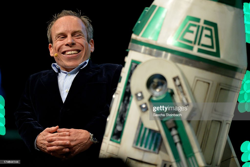 Actor <a gi-track='captionPersonalityLinkClicked' href=/galleries/search?phrase=Warwick+Davis&family=editorial&specificpeople=1182415 ng-click='$event.stopPropagation()'>Warwick Davis</a> attends the Star Wars Celebration at Messe Essen on July 28, 2013 in Essen, Germany.
