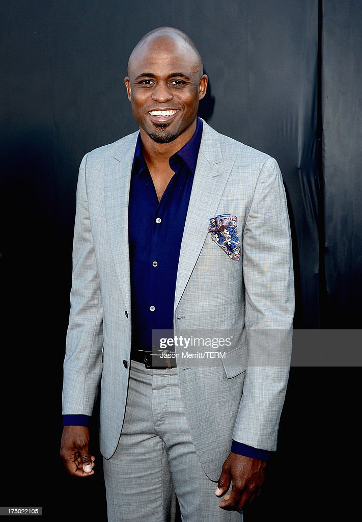 Actor <a gi-track='captionPersonalityLinkClicked' href=/galleries/search?phrase=Wayne+Brady+-+Actor&family=editorial&specificpeople=217495 ng-click='$event.stopPropagation()'>Wayne Brady</a> arrives at the CW, CBS and Showtime 2013 summer TCA party on July 29, 2013 in Los Angeles, California.