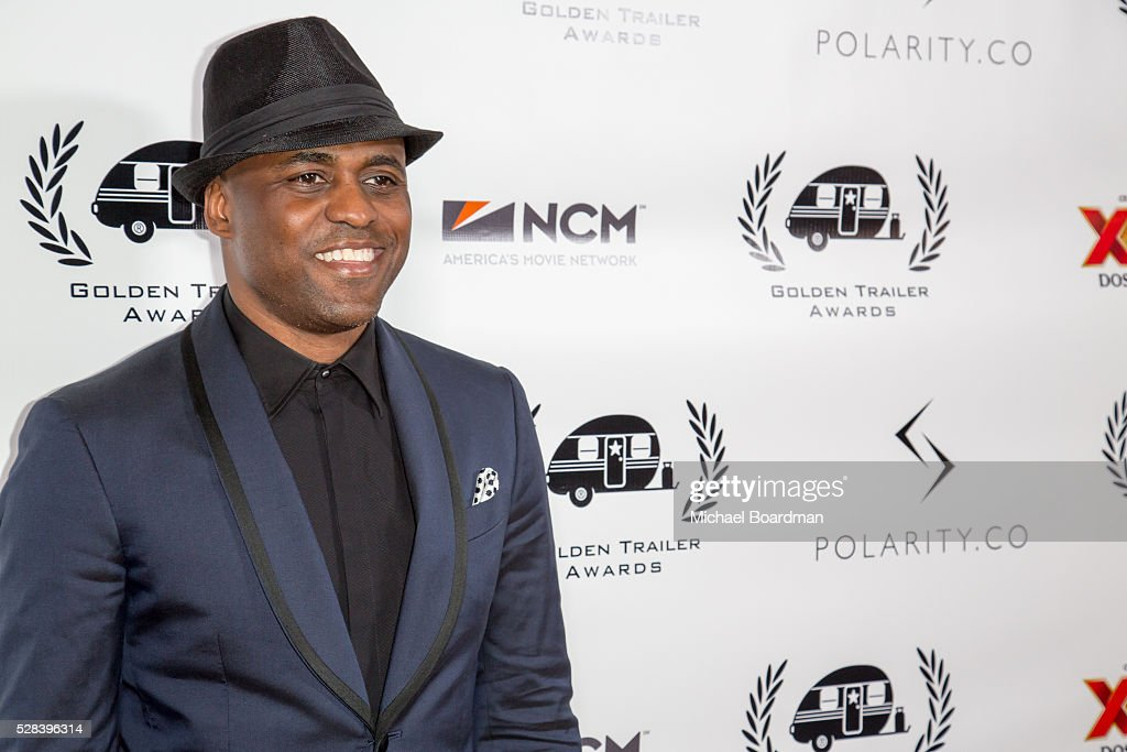 Actor <a gi-track='captionPersonalityLinkClicked' href=/galleries/search?phrase=Wayne+Brady+-+Actor&family=editorial&specificpeople=217495 ng-click='$event.stopPropagation()'>Wayne Brady</a> attends the 17th Annual Golden Trailer Awards at Saban Theatre on May 04, 2016 in Beverly Hills, California.