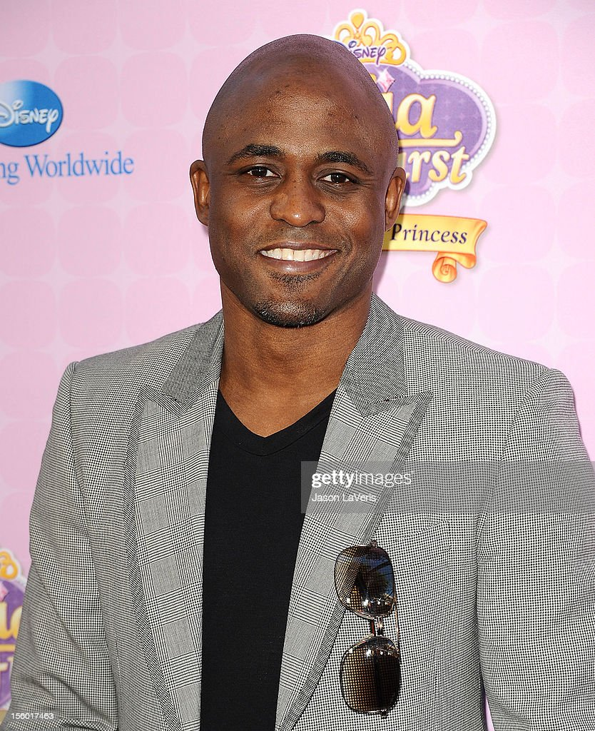 Actor Wayne Brady attends the premiere of 'Sofia The First: Once Upon a Princess' at Walt Disney Studios on November 10, 2012 in Burbank, California.
