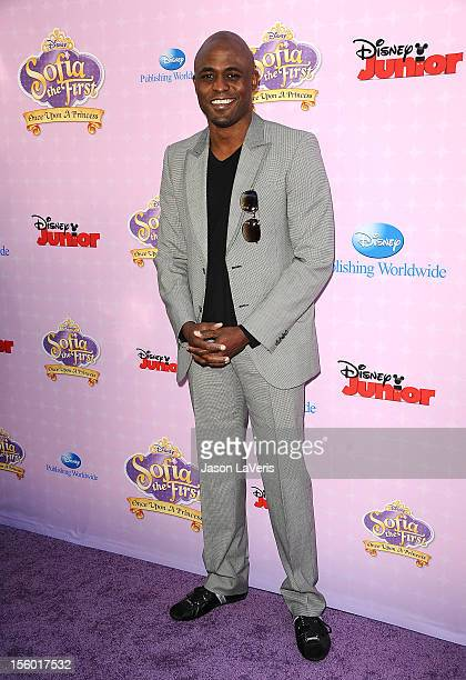Actor Wayne Brady attends the premiere of 'Sofia The First Once Upon a Princess' at Walt Disney Studios on November 10 2012 in Burbank California