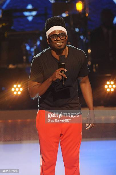 Actor Wayne Brady performs onstage during 'The BET Honors' 2015 at Warner Theatre on January 24 2015 in Washington DC