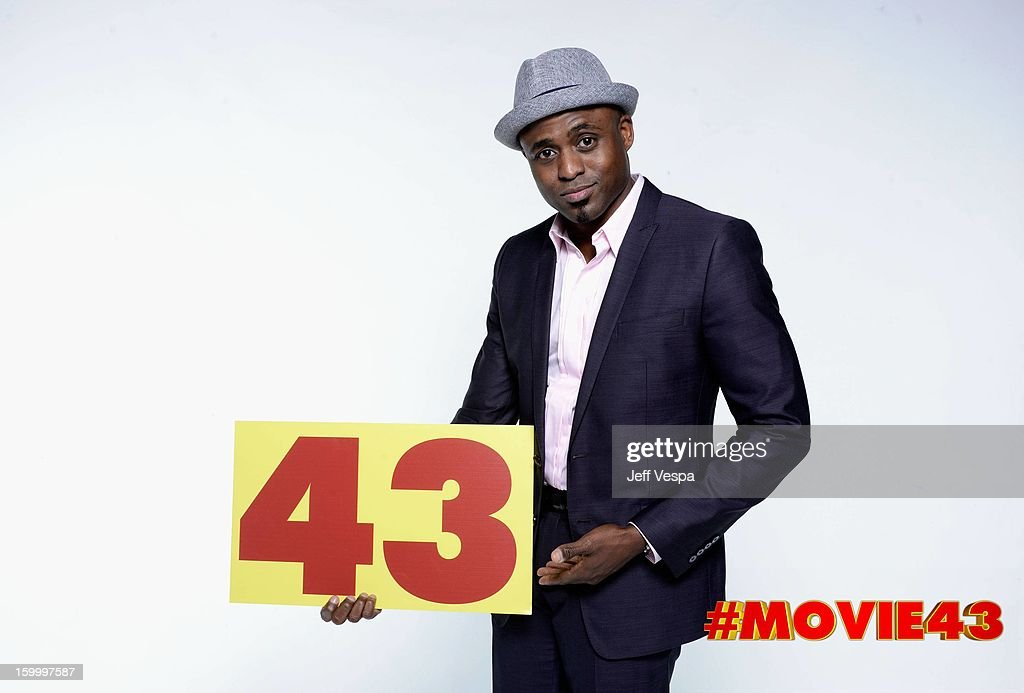 Actor Wayne Brady poses for a portrait during Relativity Media's 'Movie 43' Los Angeles premiere at TCL Chinese Theatre on January 23, 2013 in Hollywood, California.