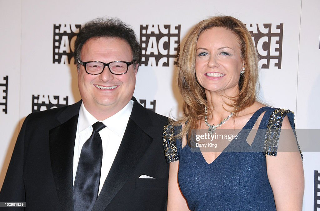 Actor <a gi-track='captionPersonalityLinkClicked' href=/galleries/search?phrase=Wayne+Knight&family=editorial&specificpeople=1018387 ng-click='$event.stopPropagation()'>Wayne Knight</a> (L) and wife Clare De Chenu attend the 63rd Annual ACE Eddie Awards at The Beverly Hilton Hotel on February 16, 2013 in Beverly Hills, California.