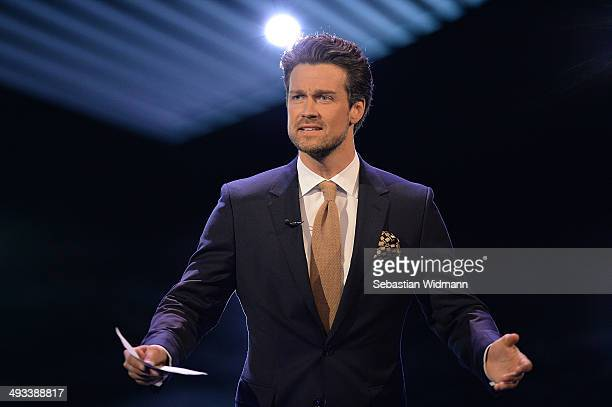 Actor Wayner Carpendale takes part in the taping of 'Bayerischer Fernsehpreis 2014' at Prinzregententheater on May 23 2014 in Munich Germany