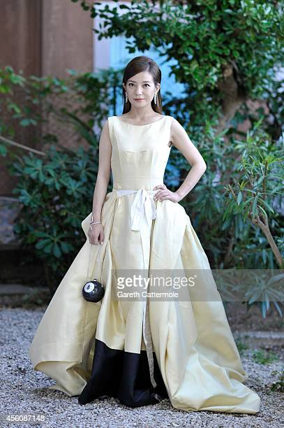 Actor Wei Zhao is photographed on August 28 2014 in Venice Italy