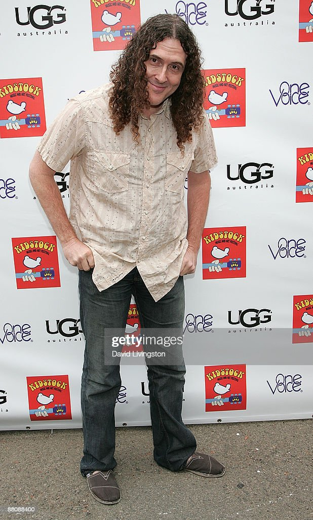 Actor 'Weird Al' Yankovic attends the 3rd annual Kidstock Music and Art Festival at Greystone Mansion on May 31, 2009 in Beverly Hills, California.