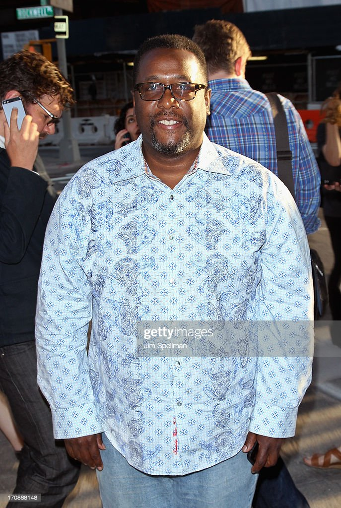 Actor <a gi-track='captionPersonalityLinkClicked' href=/galleries/search?phrase=Wendell+Pierce&family=editorial&specificpeople=2236213 ng-click='$event.stopPropagation()'>Wendell Pierce</a> attends BAMcinemaFest 2013 And The Cinema Society Host The Opening Night Premiere Of 'Ain't Them Bodies Saints' at BAM Harvey Theater on June 19, 2013 in New York City.