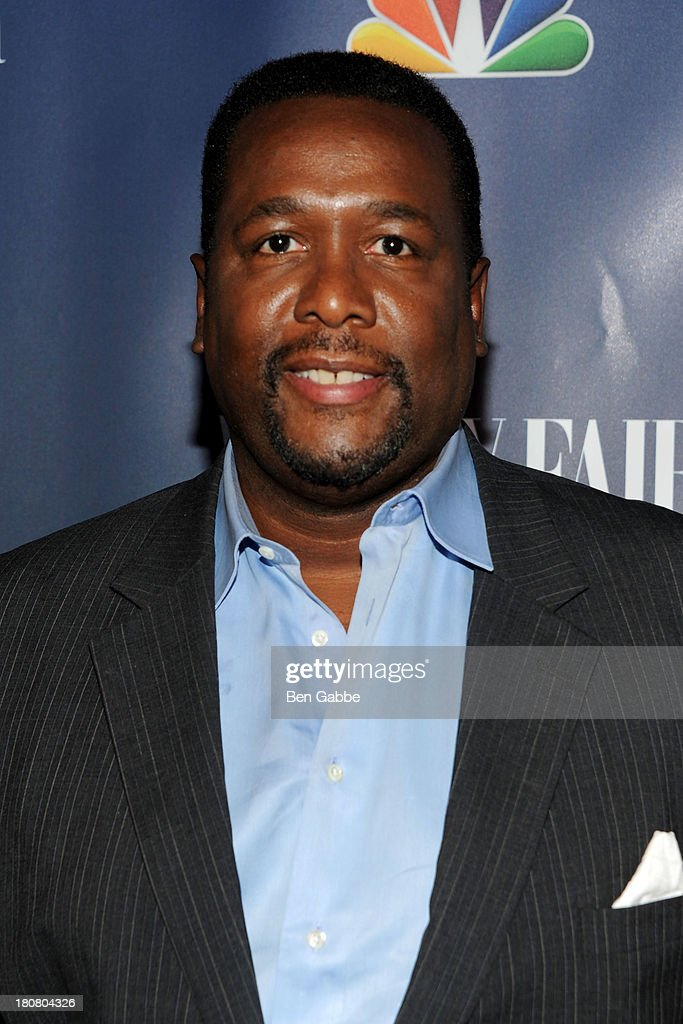 Actor <a gi-track='captionPersonalityLinkClicked' href=/galleries/search?phrase=Wendell+Pierce&family=editorial&specificpeople=2236213 ng-click='$event.stopPropagation()'>Wendell Pierce</a> attends NBC's 2013 Fall Launch Party Hosted By Vanity Fair at The Standard Hotel on September 16, 2013 in New York City.