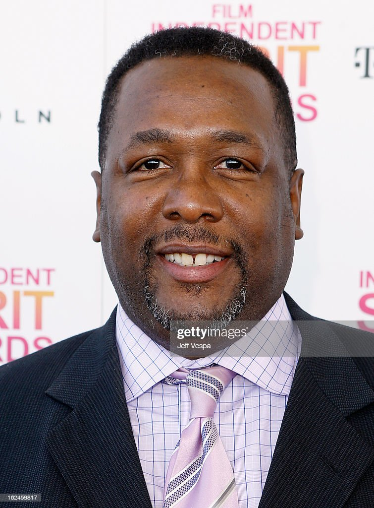 Actor <a gi-track='captionPersonalityLinkClicked' href=/galleries/search?phrase=Wendell+Pierce&family=editorial&specificpeople=2236213 ng-click='$event.stopPropagation()'>Wendell Pierce</a> attends the 2013 Film Independent Spirit Awards at Santa Monica Beach on February 23, 2013 in Santa Monica, California.