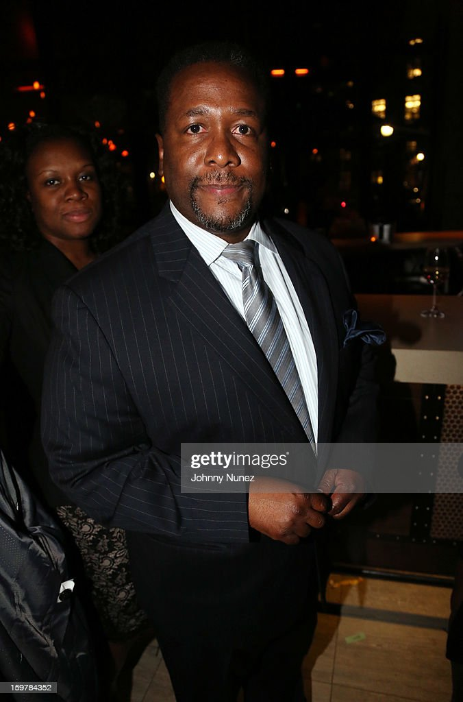 Actor <a gi-track='captionPersonalityLinkClicked' href=/galleries/search?phrase=Wendell+Pierce&family=editorial&specificpeople=2236213 ng-click='$event.stopPropagation()'>Wendell Pierce</a> attends the After@inauguration Celebration on January 19, 2013 in Washington, United States.