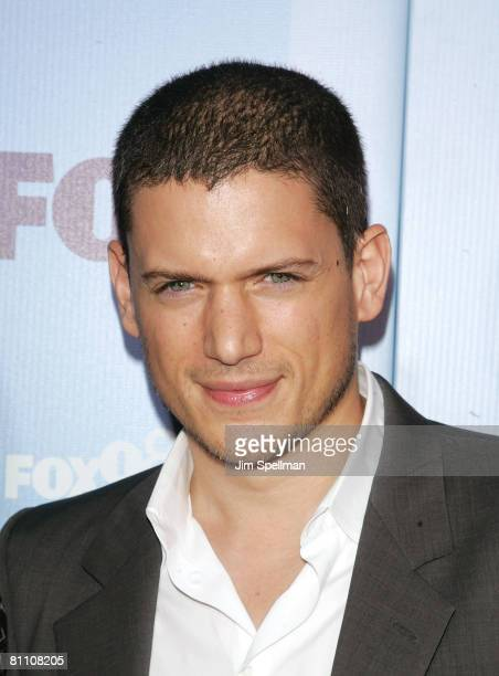 Actor Wentworth Miller arrives at the 2008 FOX UpFront at Wollman Rink in Central Park on May 15 2008 in New York City