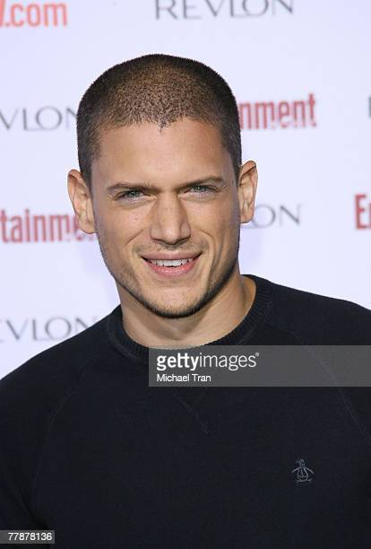 Actor Wentworth Miller arrives at the Entertainment Weekly's 5th Annual PreEmmy Party at Opera and Crimson on September 15 2007 in Hollywood...