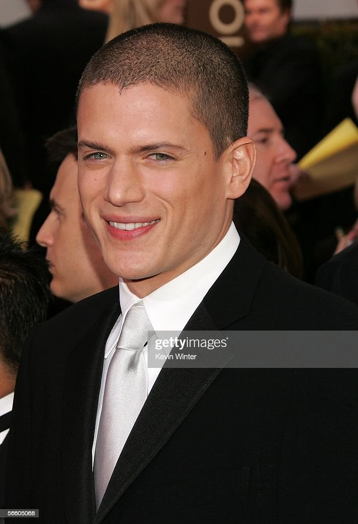 Actor Wentworth Miller arrives to the 63rd Annual Golden Globe Awards at the Beverly Hilton on January 16 2006 in Beverly Hills California