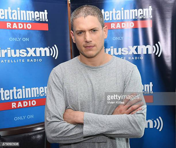 Actor Wentworth Miller attends SiriusXM's Entertainment Weekly Radio Channel Broadcasts From ComicCon 2016 at Hard Rock Hotel San Diego on July 22...