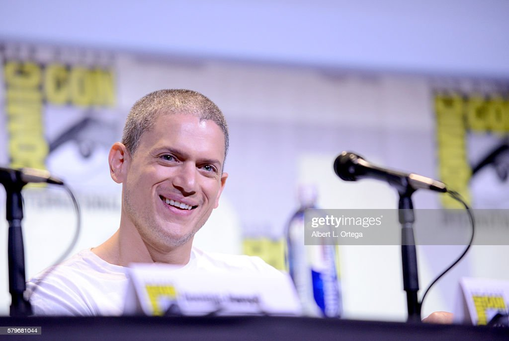 Actor Wentworth Miller attends the Fox Action Showcase 'Prison Break' And '24 Legacy' during ComicCon International 2016 at San Diego Convention...