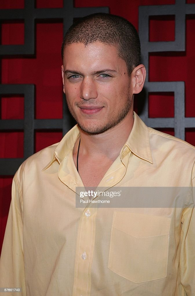Actor Wentworth Miller attends the FOX Broadcasting Company Upfront May 18 2006 in New York City