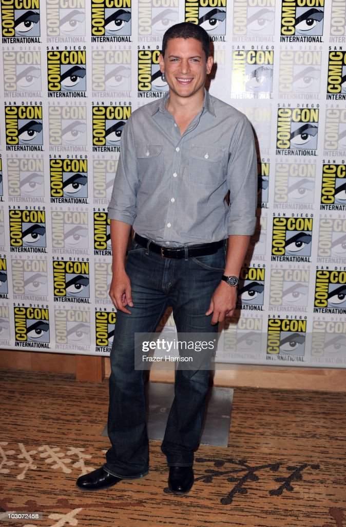 Actor Wentworth Miller attends the 'Resident Evil Afterlife' red carpet during ComicCon 2010 on July 24 2010 in San Diego California